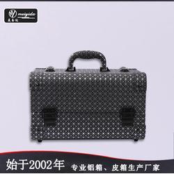 美易達廠家韓國手提專業化妝箱多層大號美容美發工具箱彩妝美甲箱圖片