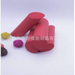 厂家专业定制彩色实心条异形发泡管图片