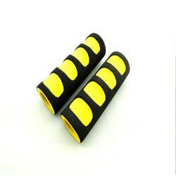 NBR双色发泡管 NBR双色四指纹发泡管 厂家供应泡棉把手图片
