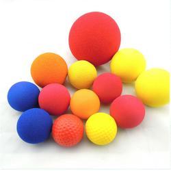 NBR实心橡塑球 高回弹磨面发泡球 棒球训练球 儿童玩具溜溜球图片