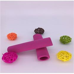 订做NBR海绵发泡管套 环保海绵管彩色橡塑海绵手把套图片