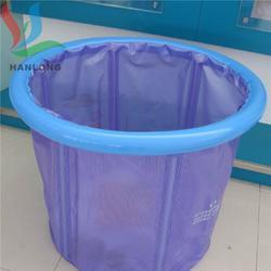 供应欧标环保6P防渗水婴儿泳池超透明PVC夹网布可定制图片