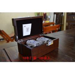 黑胡桃木工艺品礼品包装盒厂家定制生产图片