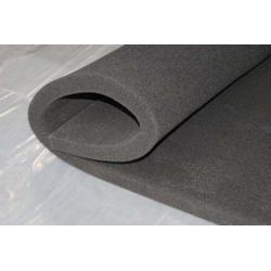 蜂窝活性炭过滤棉 空气净化吸附 海绵蜂窝状碳网 黑色炭纤维废气图片