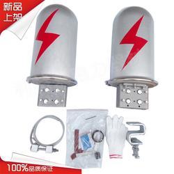 厂家直营电杆铁塔用ADSS光缆OPGW光缆2进2出4端口24芯48芯立式铝合金光缆接头盒接续盒图片