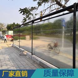 定制工地钢结构围挡 新型装配式围挡 标准工字钢围挡 欢迎订购图片
