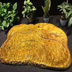 嘉匠根艺黄金樟根雕茶几-金丝楠木茶盘-黄金樟茶盘-实木茶盘图片