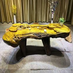 嘉匠根艺金丝楠木根雕摆件-金丝楠木茶几-金丝楠木茶台-实木客厅茶桌图片