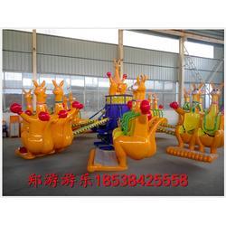 儿童游乐设备袋鼠跳郑游游乐欢迎订购图片