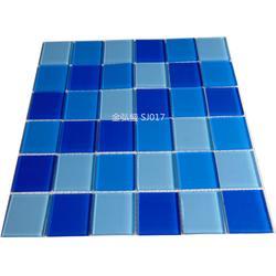 游泳池马赛克瓷砖就选金弘盛陶瓷马赛克图片