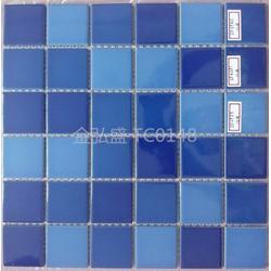 佛山供应酒店游泳池拼图马赛克瓷砖图片