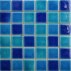 景观游泳池陶瓷马赛克海豚厂家图片