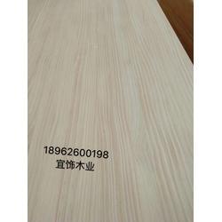 5公分8公分厚松木桌面板宜饰木业图片