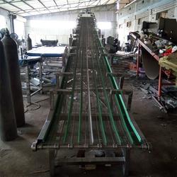 宜昌提升网带输送机-提升网带输送机定做-强盛网链图片
