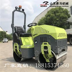 定制型绿色外观小型压路机全国联保看上的老铁来询图片