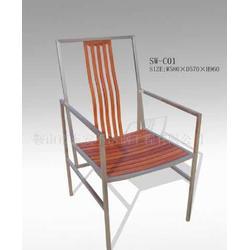 不锈钢休闲椅子批发采购图片
