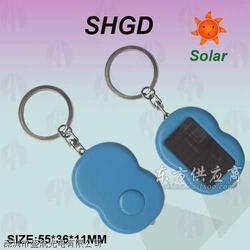 新创意礼品,太阳能钥匙扣手电筒图片