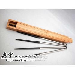 Ticore乌木纯钛筷子图片