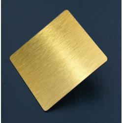 不锈钢厂家 304拉丝不锈钢钛金装饰板图片