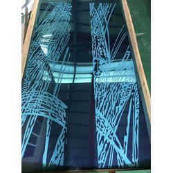 不锈钢宝石蓝蚀刻电梯板 金一帆彩板老厂家图片