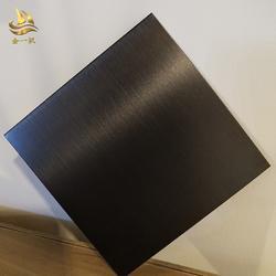 304彩色不锈钢板 不锈钢彩色板玫瑰金 黑钛金镜面板无指纹板图片