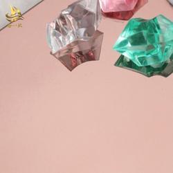 不锈钢蚀刻板加工 镜面蚀刻镀玫瑰金图片