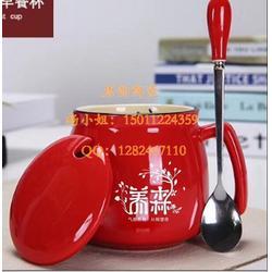 高级陶瓷杯定做-办公会议盖杯-异形马克杯-咖啡杯定做-骨瓷办公三件套-陶瓷茶杯笔筒烟烟灰缸图片