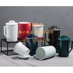 办公杯陶瓷-咖啡杯定做-欧式马克杯-陶瓷杯定制-异形马克杯-骨质瓷杯子-定做礼品杯子-茶杯图片