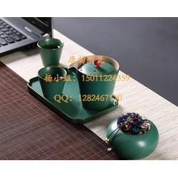 定做陶瓷酒瓶厂家-礼品定做-鎏金茶杯品茗杯-茶具-酒店餐具-陶瓷盘子定做图片