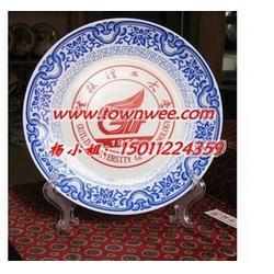 酒店陶瓷盘子定做-日料餐具-纪念盘-茶叶罐-陶瓷定做陶瓷酒瓶-瓷板画图片