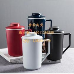 鎏金陶瓷茶杯品茗杯-陶瓷茶杯-马克杯定制-礼品杯子-陶瓷杯子-咖啡杯定做-广告水杯-会议杯图片