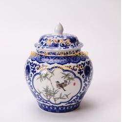 瓷器茶叶罐定做-酒店陶瓷餐具-纪念盘-花瓶-瓷器定做-日料陶瓷餐具-骨瓷咖啡具图片