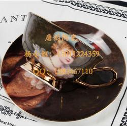 广告杯定做-创意马克杯-陶瓷咖啡杯-欧式金边咖啡杯-陶瓷茶杯-骨瓷会议盖杯-办公杯定做图片