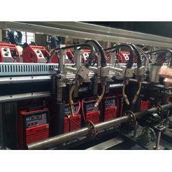 钢管脚手架自动焊接设备 门式脚手架环缝焊接机生产厂家图片