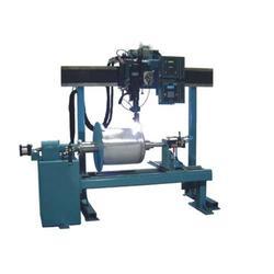 环缝焊接机生产厂家用于燃气罐体的环缝焊接设备图片