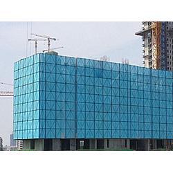 爬架网片 喷塑爬架网 建筑外墙安全防护网图片