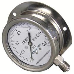径向带边不锈钢压力表Y-60B/TQ Y100B/TQ Y150B/TQ图片