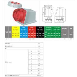 啟星供應 QX-119616A/4P工業防水明裝插座圖片