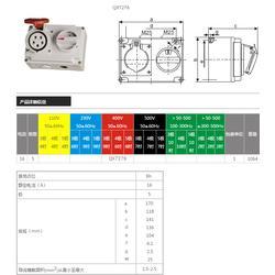 啟星科技 QX7276 16A/5P帶開關和機械聯鎖圖片