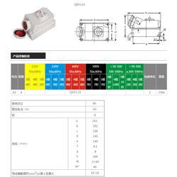 啟星供應  QX5110 63A/4P帶開關和機械聯鎖圖片