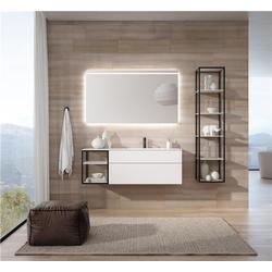 全铝浴室柜-宜铝香家居现货充足-全铝浴室柜优点图片