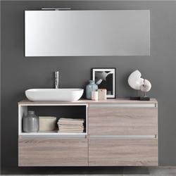 山西全铝浴室柜-全铝浴室柜加盟-宜铝香智能家居图片