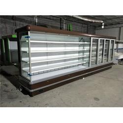 风幕柜 水果保鲜柜 酸奶冷藏展示柜 串串风幕柜厂家图片