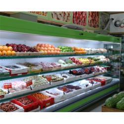 水果風幕柜 水果保鮮展示柜圖片