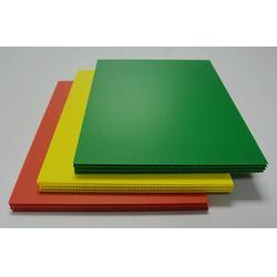 红色中空双壁板厂家定制,中空板定制 建升