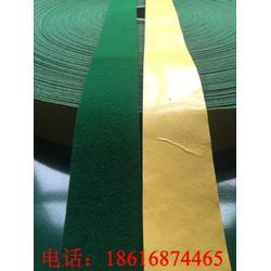 背胶绿绒布 背胶绿绒包辊带 包辊绿绒布 糙面带 绿包布图片