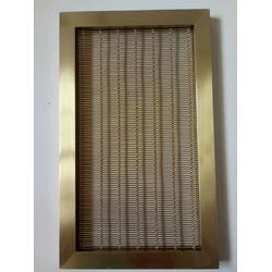 绵瑞建筑装饰金属网帘-装饰用金属吊顶网-装饰金属隔断网图片