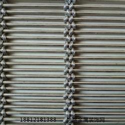 不锈钢环网装饰网-不锈钢环装饰网-不锈钢金属装饰网厂图片