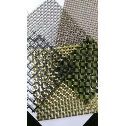 金属垂帘装饰网-不锈钢金属装饰网-金属不锈钢输送带图片
