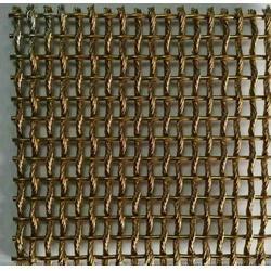 商场隔断垂帘-酒店宾馆不锈钢金属网帘-外墙金属装饰网图片